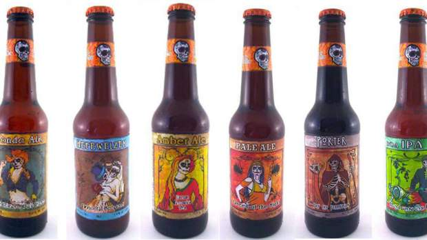 """""""Day of the Dead""""  Beer"""