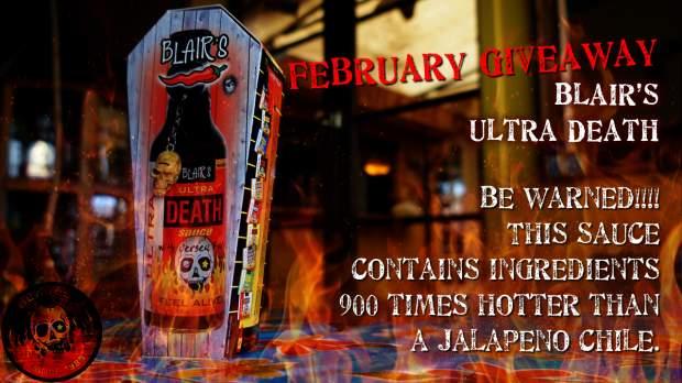 Blair's Hot Sauce Giveaway