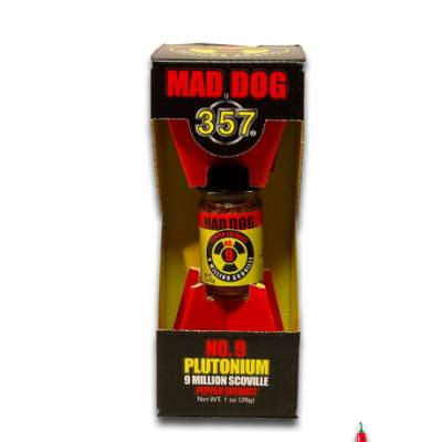 Mad Dog 357 Plutonium 9 Million Scoville Pepper Extract 28gm