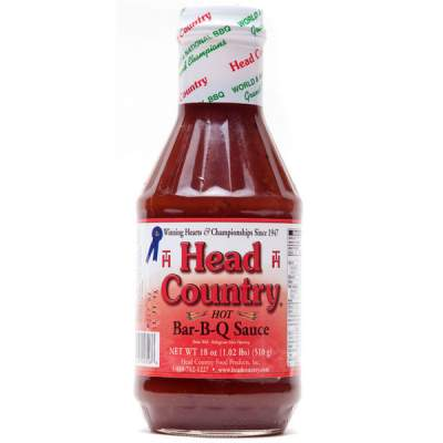 Head Country Hot BBQ Sauce 510ml