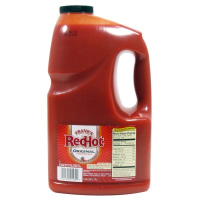 Frank's Red Hot Original Cayenne Pepper Sauce 1 Gallon