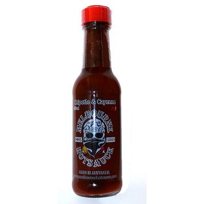 Mellbourne Hot Sauce Chipotle and Cayenne 150m