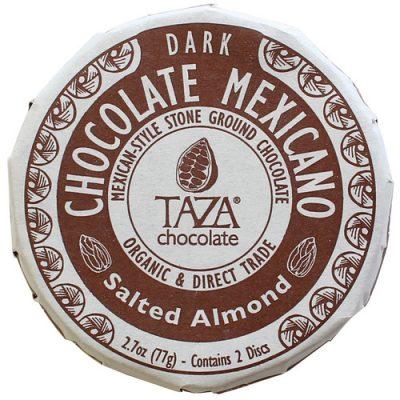 Taza Salted Almond Chocolate Mexicano 77gm