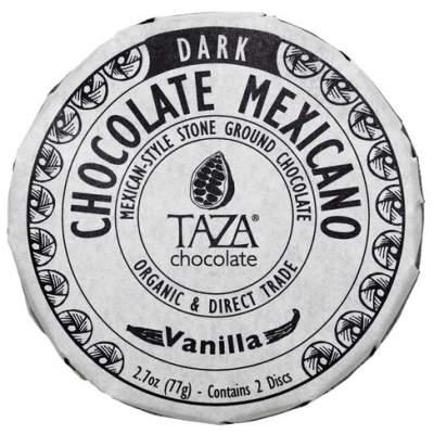 Taza Vanilla Chocolate Mexicano 77gm