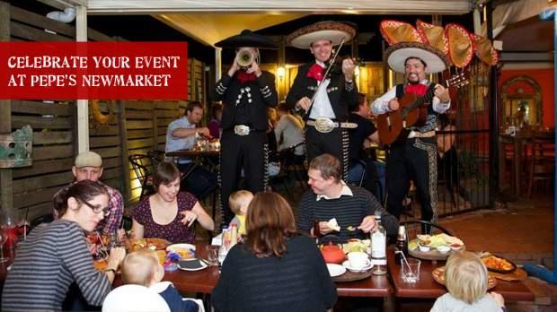 Celebrate at Pepe's!