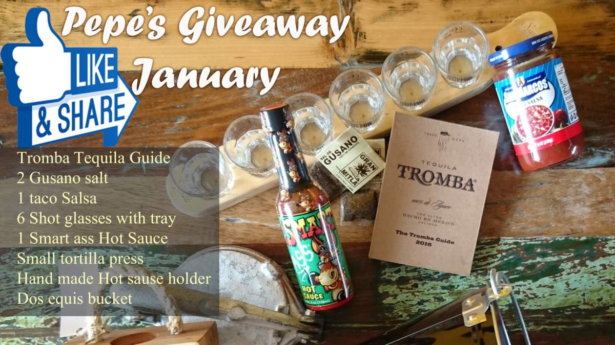 January Giveaway