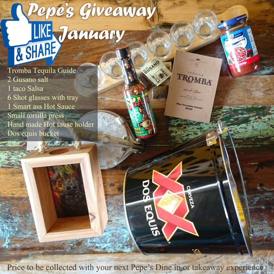 Peps giveaway mexican