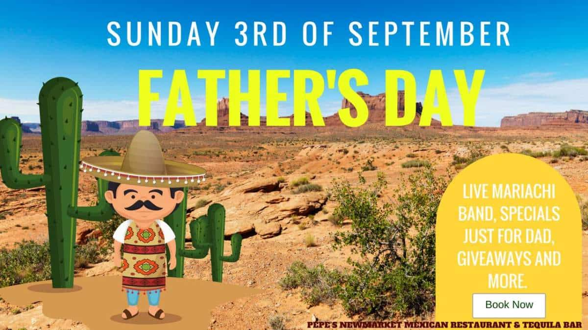 Celebrate Father's Day at Pepe's