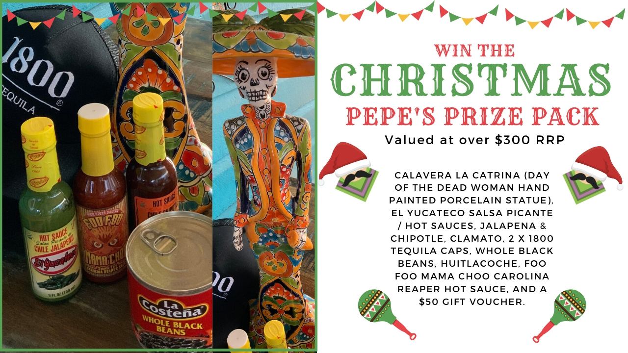 Pepe's Christmas Giveaway
